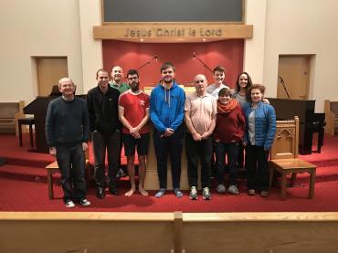 Image: armagh-evangelism-team-2017